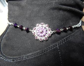 Boot jewelry, bracelet, chain
