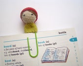 crochet bookmark planner personalized paper clips crochet amigurumi doll bookmarks for kids school bookmarks bookmark clips kid bookmarks