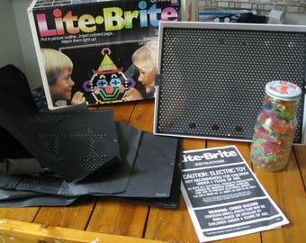 1986 Original Lite Brite by Milton Bradley