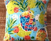 pineapple tropical outdoor cushion