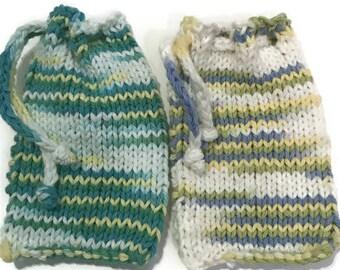 Soap Saver, Soap bag, exfoliating bag, washcloth bag, gift idea