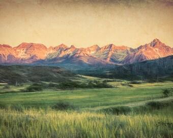 Spring in the San Juans - Colorado Spring - Colorado - San Juan Mountains - Mount Sneffles -  San Juan Mountains - Mount Sneffles