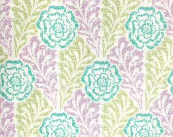 Carla Miller Fabric, Lily Rose, Stencil,  Lilac, CM36, Floral