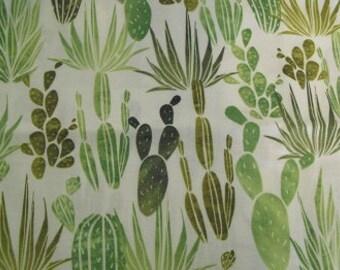 Cactus fabric half yard