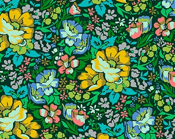 ON SALE***PREORDER Floral Retrospective Anna Maria Horner Forest Over Achiever