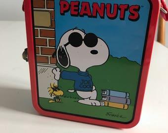 Peanuts Metal Lunchbox