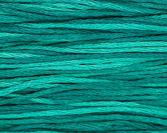 ISLAMORADA 2142 Weeks Dye Works WDW hand-dyed embroidery floss cross stitch thread at thecottageneedle.com