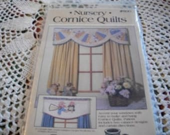 English Floral Cornice Quilts & Nursery Cornice Quilts Patterns