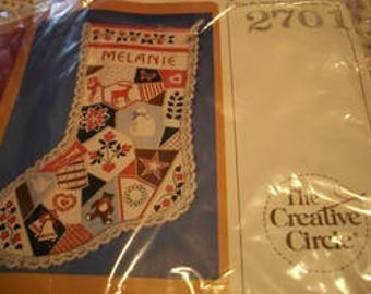 Crazy Quilt Stocking Kit