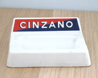 Vintage Cinzano Mid Century Ashtray