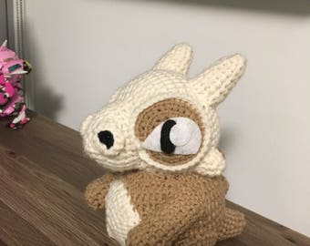 Crochet cubone pokemon stuffed amugurumi plush