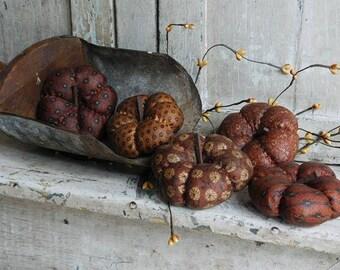 Primitive Pumpkin Bowl Fillers, Halloween  Harvest Fall Decor