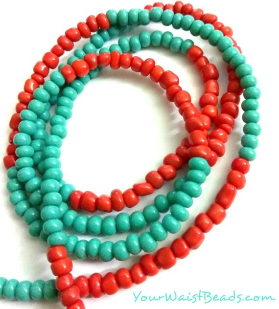 Waist Beads Custom fit ~ Carrie Special ~  YourWaistBeads.com