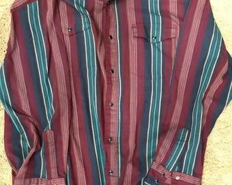 Vintage Wrangler Mens Shirt