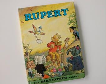 Rupert the Bear Notebook - Handmade Journal