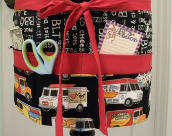 Teacher Aprons-Crafter Vendor Utility Apron-Food Truck Friday