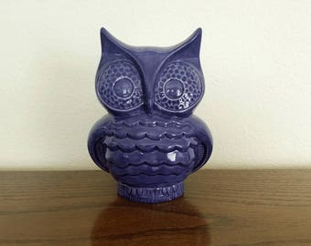 Ceramic Retro Owl Bank