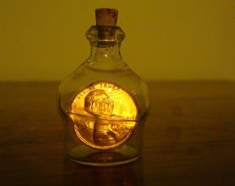 1973 Penny in a Bottle