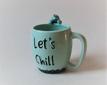 Narwhal Mug Let's Chill Buddy the Elf