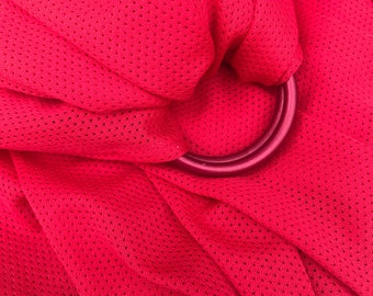 Ruby Red Mesh Water Sling