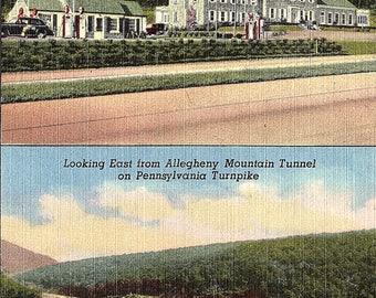 Pennsylvania Turnpike, Pennsylvania, Midway, Howard Johnsons - Vintage Postcard - Postcard - Unused (YY)