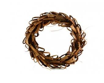 Wreath Natural Wicker
