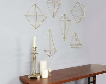 3D prism decor - wall, ceiling, desk