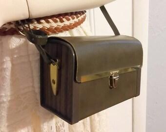 Mid Century Camera Bag 50s 60s