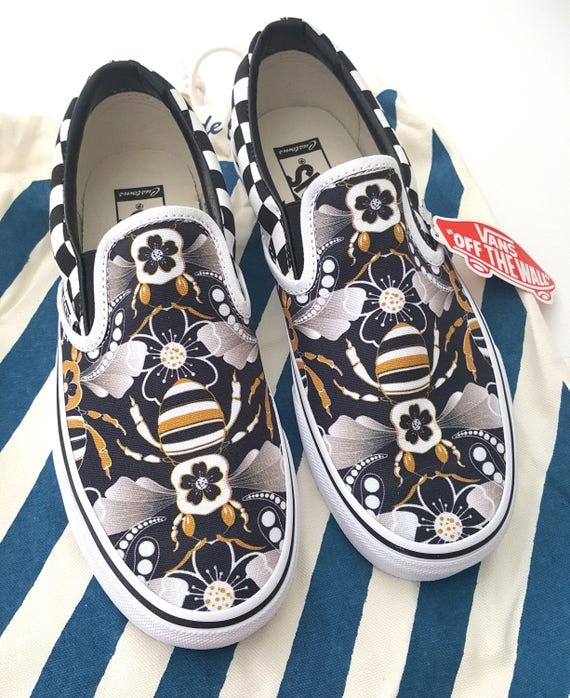 Limited Edition Deco Bee Custom Vans (Men's)