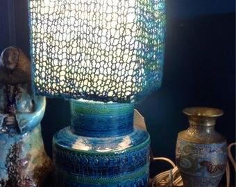 Bitossi vintage lamp