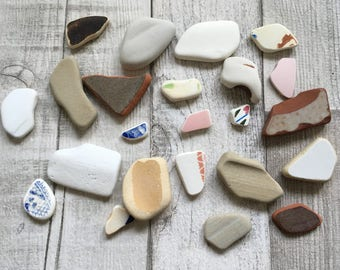 Beach Pottery Collection
