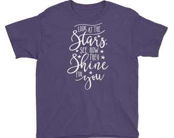 Look at the Stars Youth Short Sleeve T-Shirt