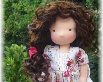 RESERVED Custom Waldorf doll 11 inches