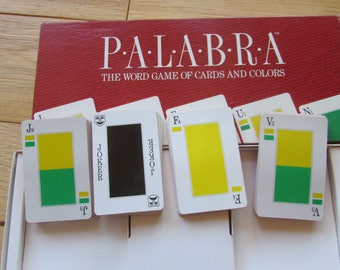 1990 Palabra Board Game COMPLETE