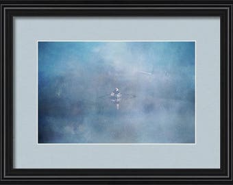 Nautical photography,boat photography,framed artwork,framed nautical photograph,ready to hang,rowboat print,west coast decor,matted print