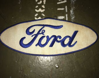 Ford Auto Large Vintage Novelty Patch