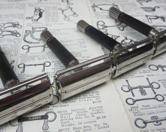 Price per Piece (1) One Vintage Razor Gillette Black Handle Super Speed Razors Shaving Safety Razor Adjustable Twist To Open Vintage Syle