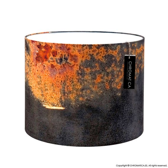 Lamp Shade Titanic. Photography Lampshade Rust Red
