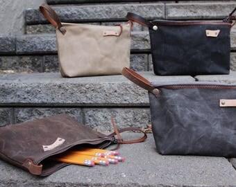 Bridesmaid gift Pencil Pouch, Makeup Bag, Toilitery Bag, Pen Pouch, Pencil Bag
