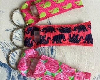 Lip Balm Holder - USB holder - ChapStick holder - Grosgrain Ribbon