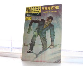 Comic Book Classics Illustrated Frankenstein No. 26 Circa 1971