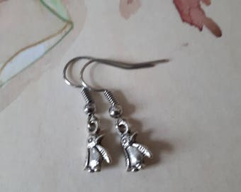 Little Pinguin Earrings.