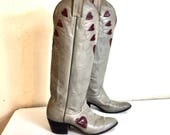 Vintage Tall Cowboy Boots...