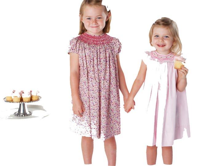 Childrens Corner Pattern / Smocked Dress Pattern / Smocked Bishop Pattern /Updated Pattern / Classic Bishop Pattern