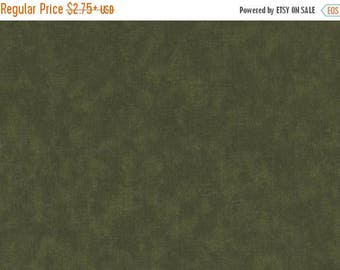 "ON SALE 54"" Wide Fabric, Green Fabric, Quilter's Blenders Fabric, Dark Green Fabric, Extra Wide Fabric, FF102"