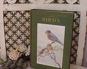 """Beautiful 1924 Book: """"Birds Worth Knowing"""" from Little Nature Library"""