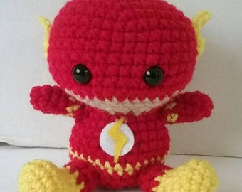 The Flash Inspired Amigurumi Fat head Doll - Plushies - Baby Flash