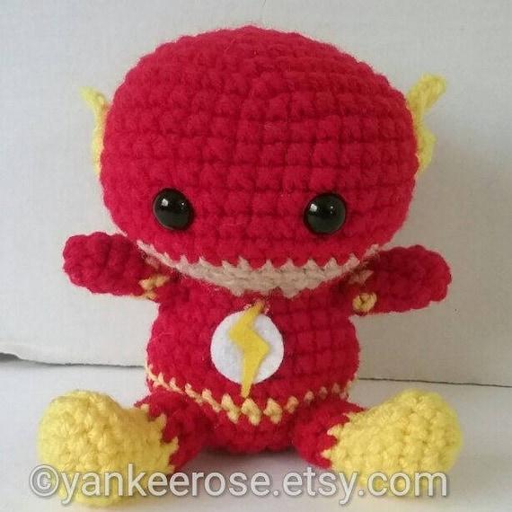 The Flash Inspired Amigurumi Fat head Doll Plushies Baby