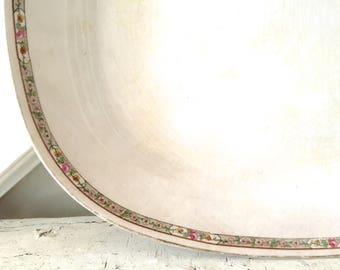 Vintage Ironstone Platter White