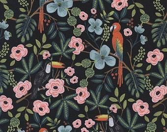 PRESALE - Menagerie - Paradise Garden in Midnight - Anna Bond for Cotton + Steel - 8028-01 - 1/2 Yard